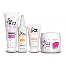 HAIR JAZZ set - shampoo, lotion, mask en leave-in hair cream