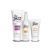 HAIR JAZZ set - shampoo, lotion en leave-in hair cream
