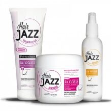 Basic HAIR JAZZ set - shampoo, lotion en mask