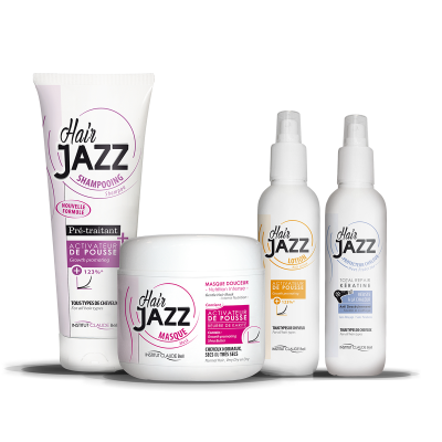 HAIR JAZZ - shampoo, lotion, mask en heat protector