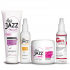 GREY AWAY lotion en HAIR JAZZ set - shampoo, lotion en mask