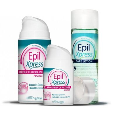 Epil Xpress: Hair Reducer + After Shave Lotion