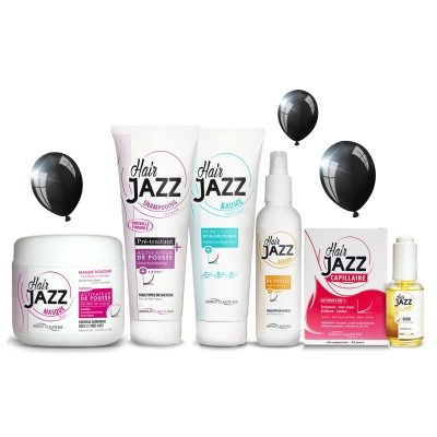 BLACK FRIDAY set 2: HAIR JAZZ - om uw haargroei te versnellen!